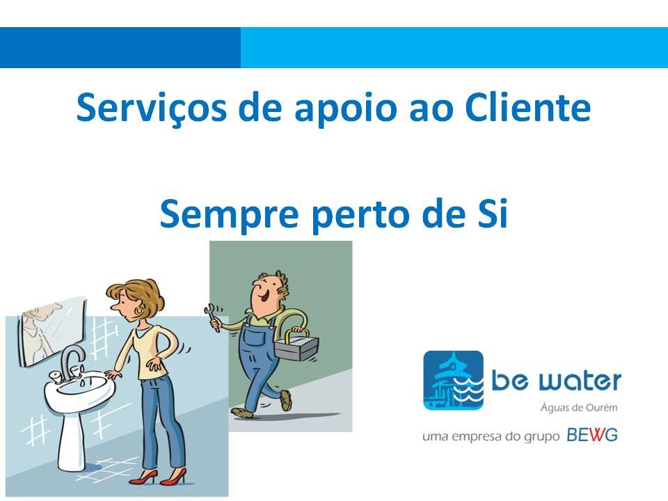 Servicos de apoio ao cliente