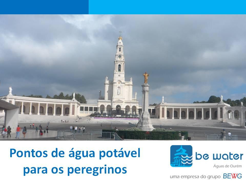 Peregrinos em Fatima