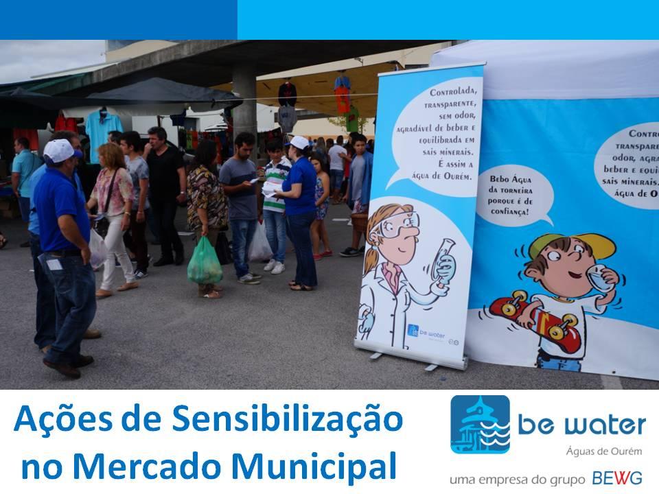 Sensibilizacao Ambiental no Mercado Municipal